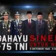 Dirgahayu Tentara Nasional Indonesia ke-75